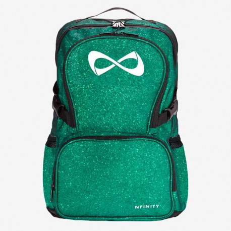 Sparkle green white logo