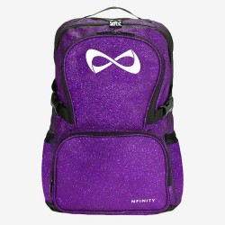 Sparkle purple white logo