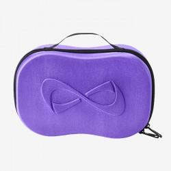 Make up case purple