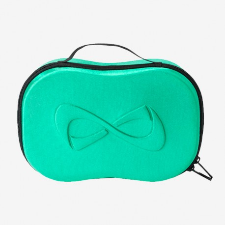 Make up case green