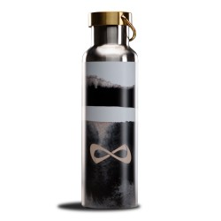 Nfinity Black ans white Water Bottle