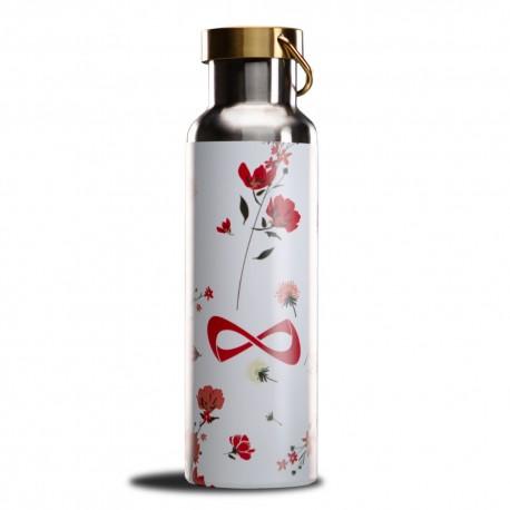 Nfinity Floral Water Bottle